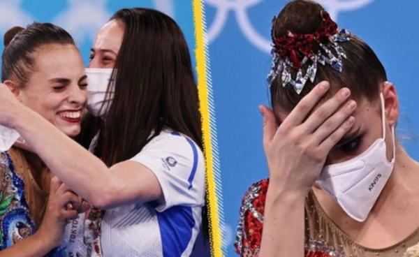 Israel's Linoy Ashram beating Dina Averina of the Russian