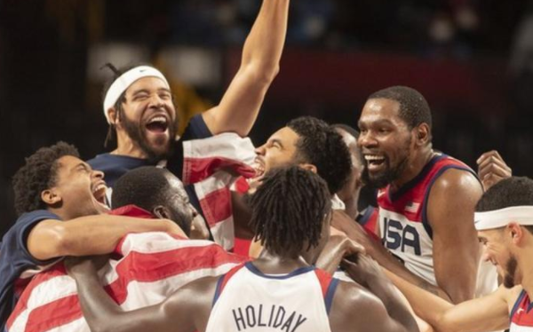 The United States win basketball gold